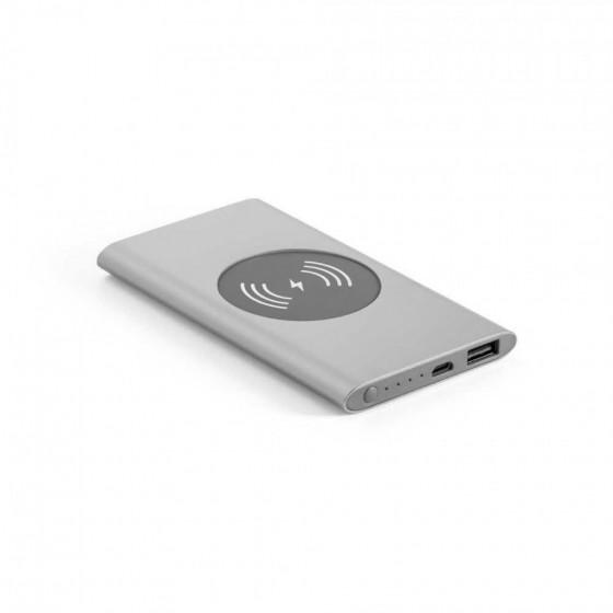 Bateria portátil e carregador wireless. Capacidade: 4000 mAh - 97078-127