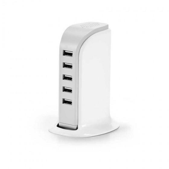 Estação de carregamento USB com 5 saídas 5V/4A - 97154-106