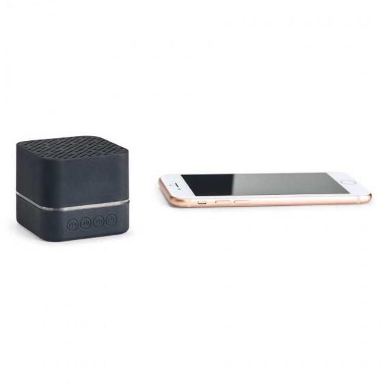 Caixa de som Bluetooth com cabamento emborrachado - 97255-103