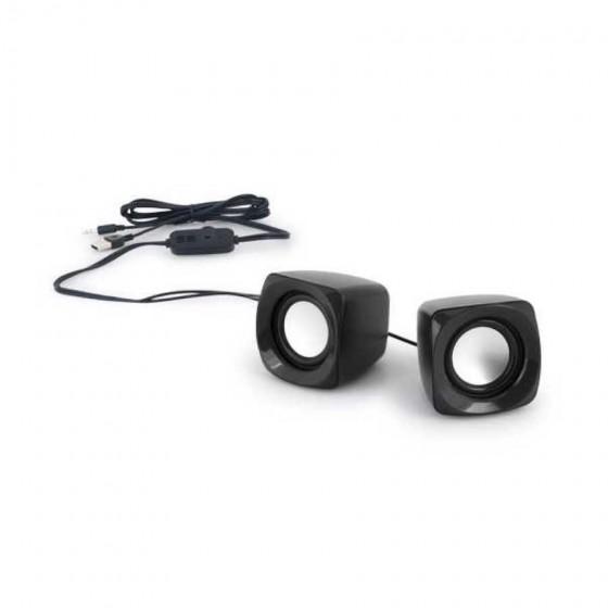 Caixa de som. ABS. Com ligação stereo - 97339.03