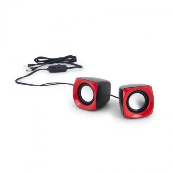 Caixa de som. ABS. Com ligação stereo - 97339.05