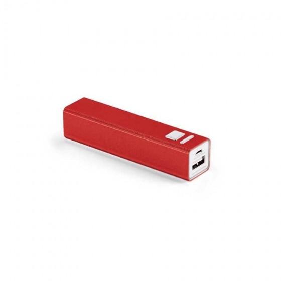 Bateria portátil em ABS. Bateria de lítio 2.600 mAh - 97382-105