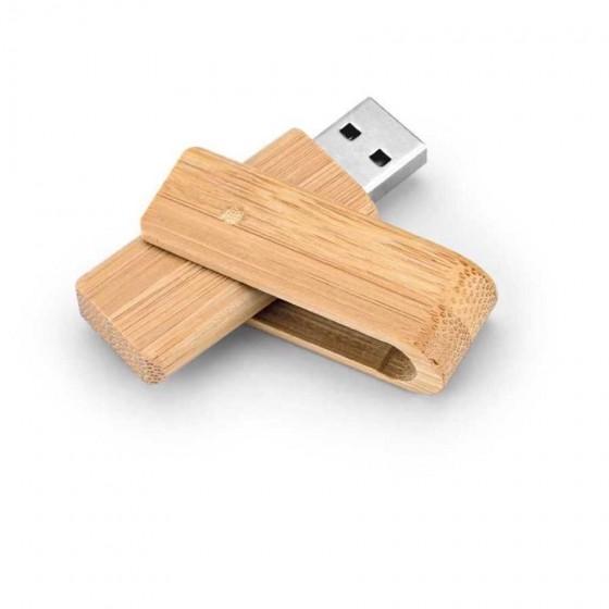 Pen drive. Bambu. Capacidade: 8GB - 97539.60