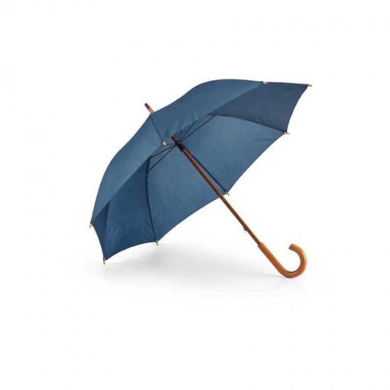 Guarda-chuva Poliéster 190T. Haste e pega em madeira - 99100-104