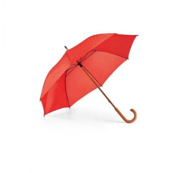 Guarda-chuva Poliéster 190T. Haste e pega em madeira - 99100-105