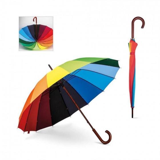 Guarda-chuva 190T pongee. pega em madeira - 99140-100