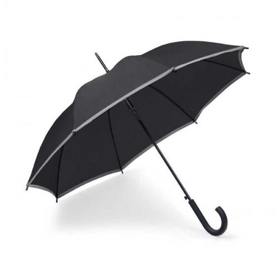 Guarda-chuva Poliéster com faixa refletora - 99152-103