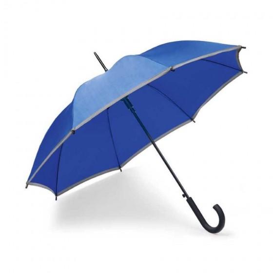 Guarda-chuva Poliéster com faixa refletora - 99152-114